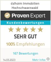 Erfahrungen & Bewertungen zu da'hoim Immobilien Hochschwarzwald