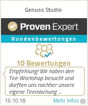 Erfahrungen & Bewertungen zu Genuss Studio