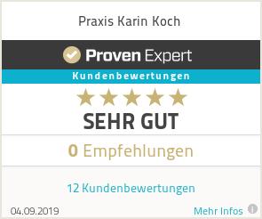 Erfahrungen & Bewertungen zu Praxis Karin Koch