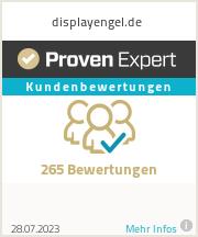 Erfahrungen & Bewertungen zu displayengel.de