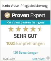 Erfahrungen & Bewertungen zu Karin Viesel Pflegeabsicherung