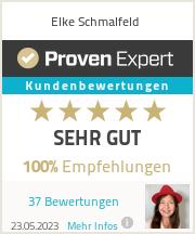 Erfahrungen & Bewertungen zu Elke Schmalfeld