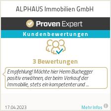 Erfahrungen & Bewertungen zu ALPHAUS Immobilien GmbH