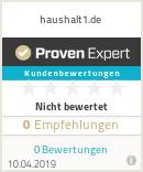 Erfahrungen & Bewertungen zu haushalt1.de