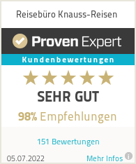 Erfahrungen & Bewertungen zu Reisebüro Knauss-Reisen