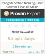 Erfahrungen & Bewertungen zu Renegade Station Niebling & Bub Automobil-Handel GmbH