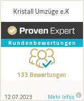 Erfahrungen & Bewertungen zu Kristall Umzüge e.K