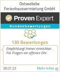 Erfahrungen & Bewertungen zu Ostseeliebe Ferienhausvermietung GmbH