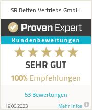 Erfahrungen & Bewertungen zu SR Betten Vertriebs GmbH