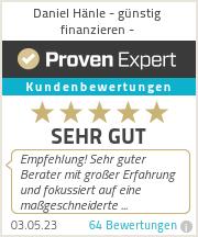 Erfahrungen & Bewertungen zu Daniel Hänle - günstig finanzieren -