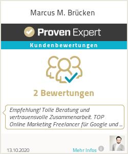 Erfahrungen & Bewertungen zu Marcus M. Brücken