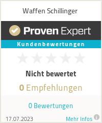 Erfahrungen & Bewertungen zu Waffen Schillinger