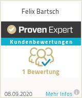 Erfahrungen & Bewertungen zu Felix Bartsch