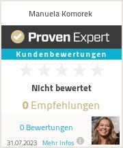 Erfahrungen & Bewertungen zu Manuela Komorek