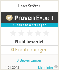 Erfahrungen & Bewertungen zu Hans Ströter