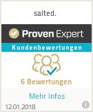 Erfahrungen & Bewertungen zu salted.