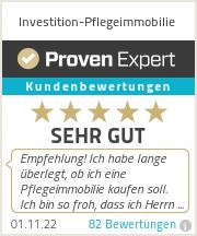 Erfahrungen & Bewertungen zu Investition-Pflegeimmobilie