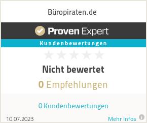 Erfahrungen & Bewertungen zu Büropiraten.de