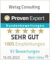 Erfahrungen & Bewertungen zu Wetag Consulting
