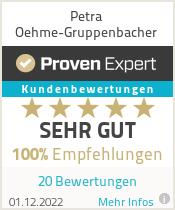 Erfahrungen & Bewertungen zu Petra Oehme-Gruppenbacher