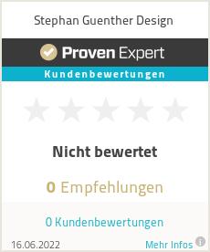 Erfahrungen & Bewertungen zu Stephan Guenther Design