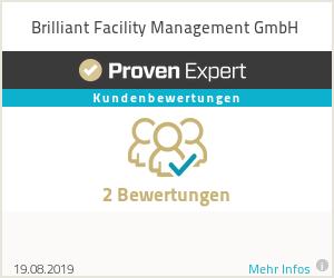 Erfahrungen & Bewertungen zu Brilliant Facility Management GmbH