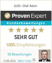 Erfahrungen & Bewertungen zu Olaf Aden