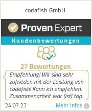 Erfahrungen & Bewertungen zu codafish GmbH