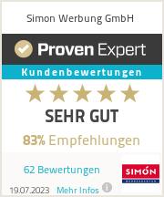 Erfahrungen & Bewertungen zu Simon Werbung GmbH