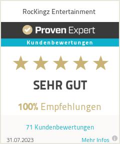 Erfahrungen & Bewertungen zu RocKingz Entertainment