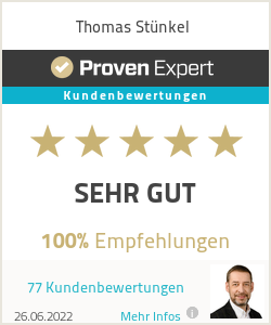 Ratings & reviews for Thomas Stünkel