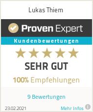 Erfahrungen & Bewertungen zu Lukas Thiem