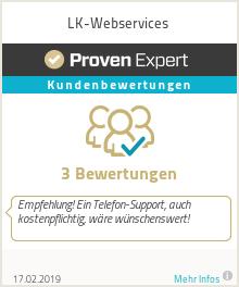 Erfahrungen & Bewertungen zu LK-Webservices