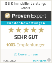Erfahrungen & Bewertungen zu G & K Immobilienberatungs GmbH