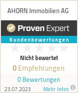 Erfahrungen & Bewertungen zu AHORN Immobilien AG