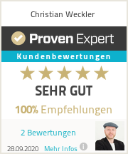 Erfahrungen & Bewertungen zu Christian Weckler