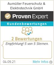 Erfahrungen & Bewertungen zu Aumüller Feuerschutz & Elektrotechnik GmbH