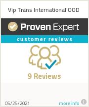 Ratings & reviews for Vip Trans International OOD