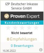 Erfahrungen & Bewertungen zu IZP Deutscher Inkasso Service GmbH