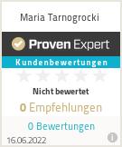 Erfahrungen & Bewertungen zu Maria Tarnogrocki