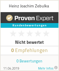Erfahrungen & Bewertungen zu Heinz Joachim Zebulka
