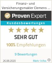 Erfahrungen & Bewertungen zu Finanz- und Versicherungsmakler Clemens Pech