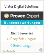 Erfahrungen & Bewertungen zu Viator Digital Solutions
