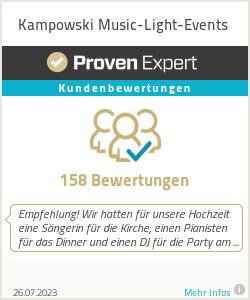Erfahrungen & Bewertungen zu Kampowski Music-Light-Events
