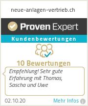Erfahrungen & Bewertungen zu neue-anlagen-vertrieb.ch