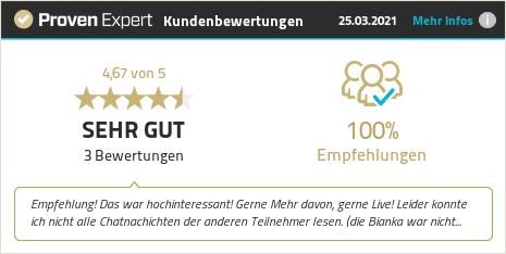 Kundenbewertungen & Erfahrungen zu Nicole Reinhold Consulting GmbH. Mehr Infos anzeigen.