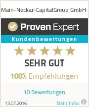 Erfahrungen & Bewertungen zu Main-Neckar-CapitalGroup GmbH
