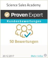 Erfahrungen & Bewertungen zu Science Sales Academy