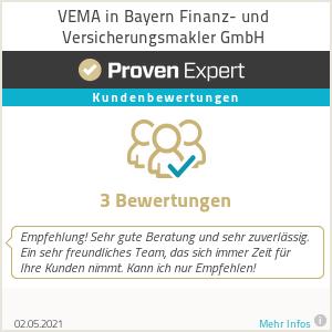 Erfahrungen & Bewertungen zu VEMA in Bayern Finanz- und Versicherungsmakler GmbH