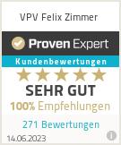 Erfahrungen & Bewertungen zu VPV Felix Zimmer